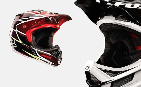 The Helmet Fox Alpinestars