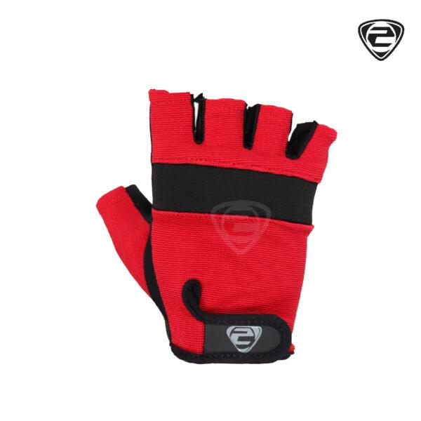 IZ 121 Glove Red Black Front Side