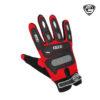 IZ 213 Glove Red Black Front Side