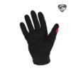 IZ 213 Glove Red Black Back Side